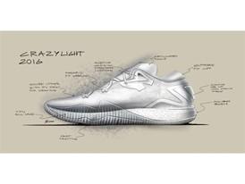 adidas Crazylight 2016 Design Sketch 2
