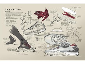 adidas Crazylight 2016 Design Sketch 1
