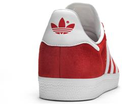 adidas Originals Gazelle FW16 Product Imagery Red Detail 02