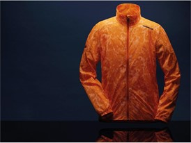 AX6124 Reflective LightRunJacket Detail