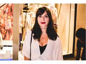 Amanda Britto in Ipanema's new store