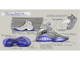 adidas Crazy Explosive Design Sketch 3