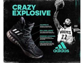 adidas Crazy Explosive Infographic 1