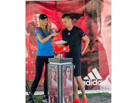 adidas представи обувките Speed of Light в София