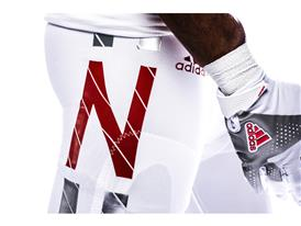 Nebraska x adidas Husker Chrome Pants