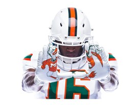 Miami Legend Of The U Away Gloves