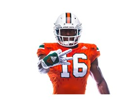 Miami Legend Of The U Home 3 Stripe Life