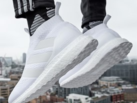 outlet store 79c14 8b6ae shop adidas ace 16 ultra boost triple white 4025a c8b49