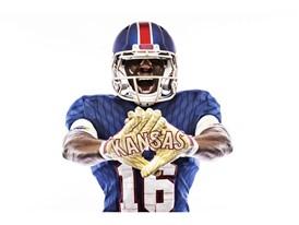 Kansas x adidas Limestone Gloves