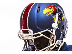 Kansas x adidas Limestone Helmet Jayhawk