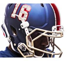 Kansas x adidas Limestone Helmet Numbers