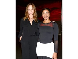 Stella McCartney and Hannah Bronfman