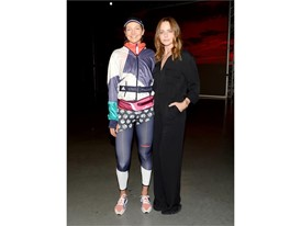 Stella McCartney and Eniko Mihalik