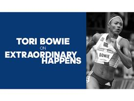 Extraordinary Happens - Episode Art Tori Bowie