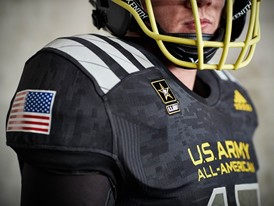 2017 Army All-American Bowl East Flag