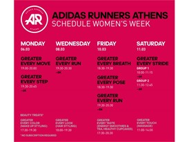 adidas Women_Calendar Visual