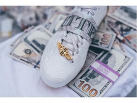 adidasFootball x Snoop Gator Cleats Lace Jewel