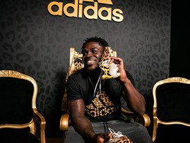 adidas x Jabrill Peppers adizero40 cleat 1