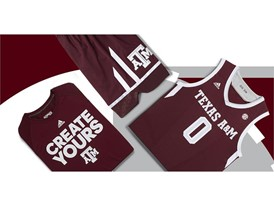 adidas NCAA Create Yours A&M Mens 3