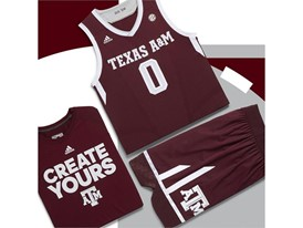 adidas NCAA Create Yours A&M Mens 5