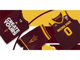adidas NCAA Create Yours ASU Mens 3