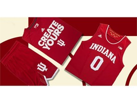 adidas NCAA Create Yours Indiana Mens 3