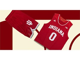 adidas NCAA Create Yours Indiana Mens 4
