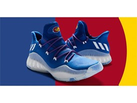 adidas NCAA Create Yours Kansas Footwear 3
