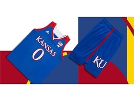 adidas NCAA Create Yours Kansas Womens 3