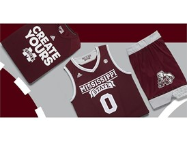 adidas NCAA Create Yours Mississippi State Mens 5