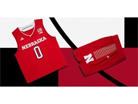 adidas NCAA Create Yours Nebraska Mens 4