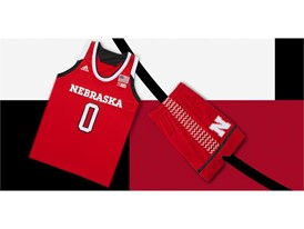 adidas NCAA Create Yours Nebraska Womens 1