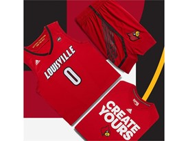 adidas NCAA Create Yours Louisville Mens 5