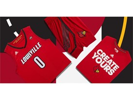 adidas NCAA Create Yours Louisville Mens 2