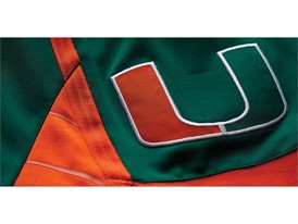 adidas NCAA Create Yours Miami Mens 2