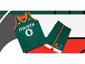 adidas NCAA Create Yours Miami Womens 3