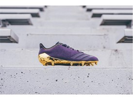 adidas Football Sundays Best Paisley Purple 2