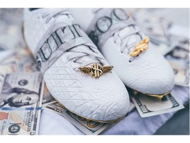 adidas Football Sundays Best Snoop White Croc Lace Jewel
