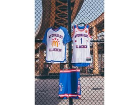 adidas McDonald's All American Games Jam Fest Uniforms 2