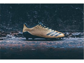 "adidas Football adizero 5-Star 6.0 ""Gold Pack"" Black 1"