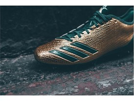 "adidas Football adizero 5-Star 6.0 ""Gold Pack"" Green 2"
