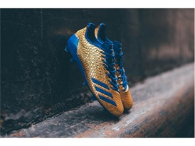 "adidas Football adizero 5-Star 6.0 ""Gold Pack"" Royal Blue 1"