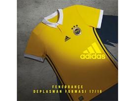 FB 2017-2018 Sarı Maç Forması