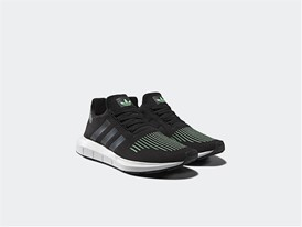 adidas Originals_SWIFT Core Black Green Glow