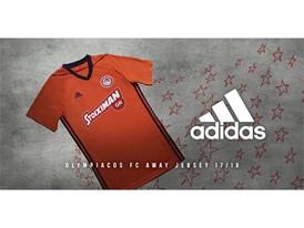 H adidas και η ΠΑΕ Ολυμπιακός παρουσιάζουν τη νέα «χρυσή» θρυλική εμφάνιση της ομάδας για τη σεζόν 2017/18