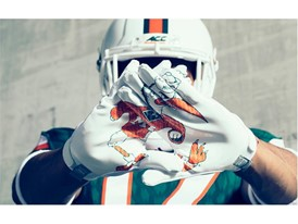 adidasFballUS x State of Miami Gloves