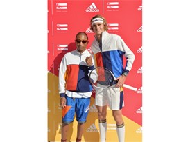 Pharrell Williams + Sascha Zverev