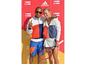 Pharrell Williams + Angelique Kerber