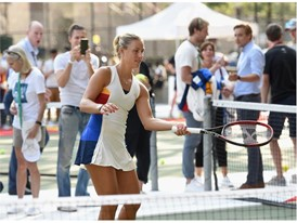 Angelique Kerber Playing Tennis