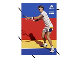 adidas Tennis Collection by PHARRELL WILLIAMS FW17 PR Hero Visuals Sascha Portrait